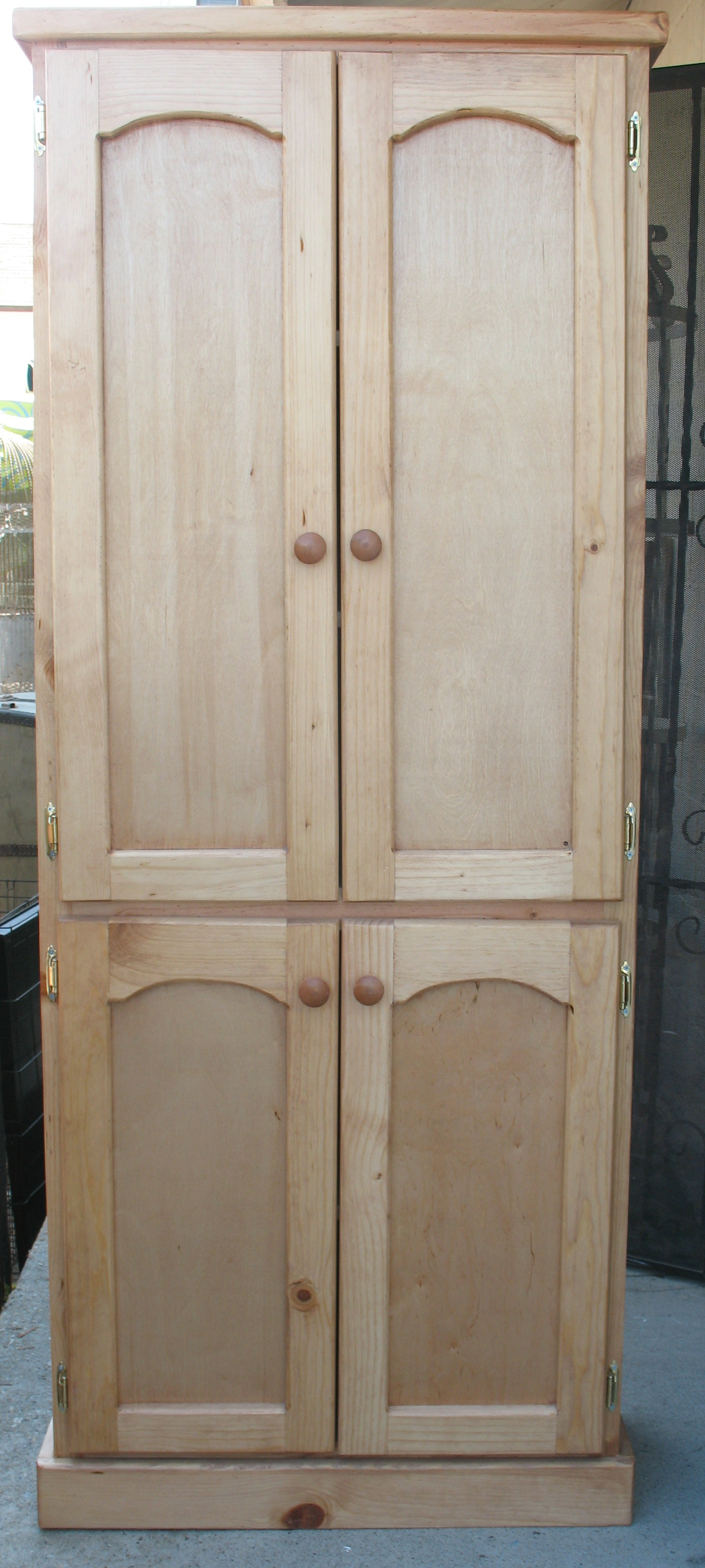 Wooden Storage Cabinets ~ Ready made cabinet with doors