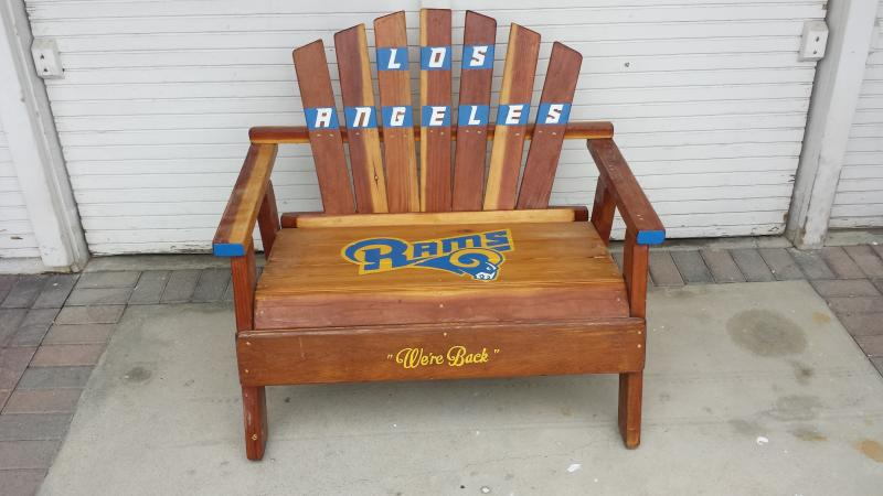 Los Angeles Rams Bench