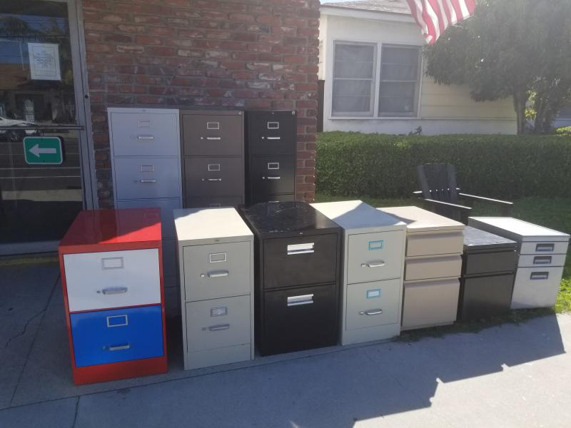 used file filing cabinets