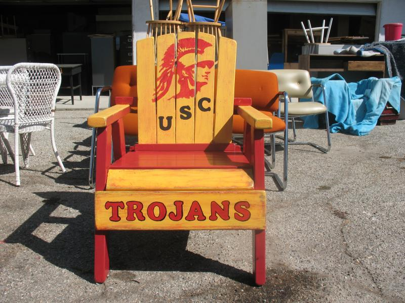 USC Chair Handpainted Adirondack Chair